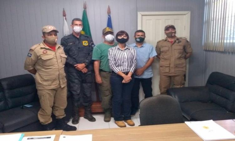 Prefeitura de Aripuanã e Corpo de Bombeiros firmam parcerias